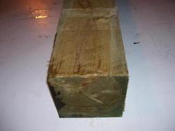 """8"""" x 8"""" x 8' AC2® Pressure Treated Rough Sawn Lumber"""