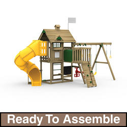 PlayStar All Pro Gold Ready-to-Assemble Playset