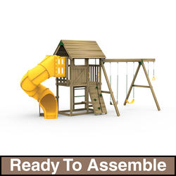PlayStar All Pro Silver Ready-to-Assemble Playset