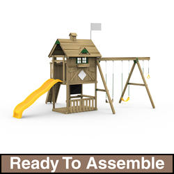 PlayStar Grand Slam Bronze Ready-to-Assemble Playset