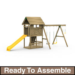 PlayStar Grand Slam Starter Ready-to-Assemble Playset