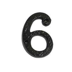 "3"" Gatemate Antique Numbers #6"