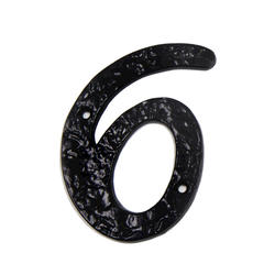 "3 3/4"" Antique Numbers #6"