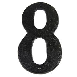 "7"" Gatemate Antique Numbers #8"