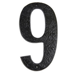 "7"" Gatemate Antique Numbers #9"