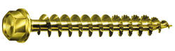 "1/2"" X 12"" Hex Head Powerlag Yellow/Zinc"