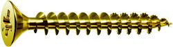 "#8 X 2"" Zinc/Yellow Flathead SPAX Unidrive (20PC) SM"
