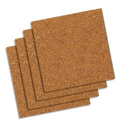Quartet 12 x 12 Natural Cork Tiles