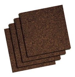 Quartet 12 x 12 Dark Cork Tiles
