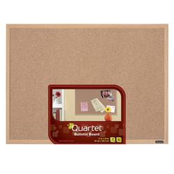 Quartet 35 x 47 Wood Frame Bulletin Board