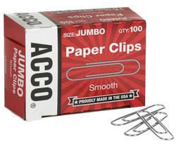 100ct Jumbo Paper Clips