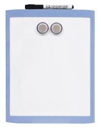 "8.5"" x 11"" Plastic Frame Magnetic Dry Erase, Asst. colors"