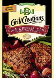 Durkee Grill Creations Black Peppercorn  Marinade - 1.12 oz