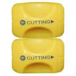 Westcott Titanium Bonded Straight Cut Replacement Blades 2 pack