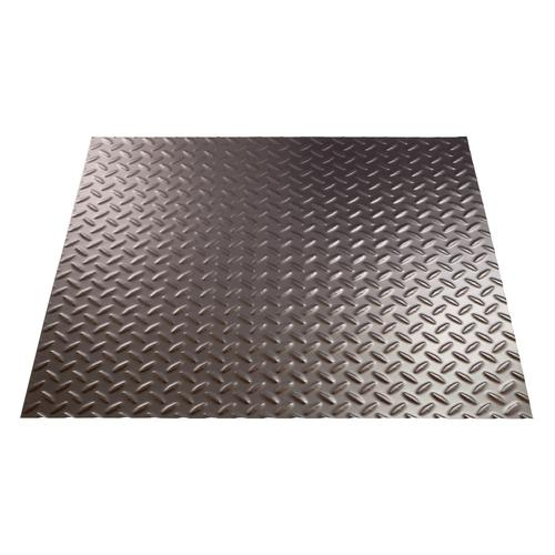 Fasade Diamond Plate 4 X 8 Pvc Wall Panel At Menards 174
