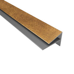 FASADE 4' PVC Large Profile Outside Corner Trim