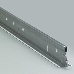 Classic X 12' White Galvanized Metal Ceiling Grid Main Runner