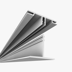 CeilingMAX 8' High-Grade Vinyl Surface Mount Ceiling Grid Runner