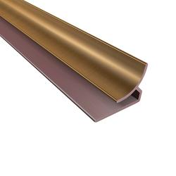 "FASADE 18"" Oil-Rubbed Bronze PVC Inside Corner Trim"