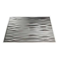 "FASADE Waves - 18"" x 24"" PVC Backsplash Panel"