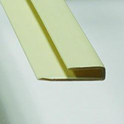 ACP 8' White PVC Cap Trim Strip