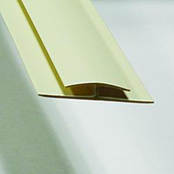 ACP 8' White PVC Divider Bar Trim