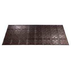 FASADE Traditional 10 - 2' x 4' PVC Glue-Up Ceiling Tile