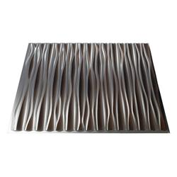 FASADE Dunes Vertical - 2' x 2' PVC Glue-Up Ceiling Tile