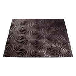 FASADE Cyclone - 2' x 2' PVC Glue-Up Ceiling Tile