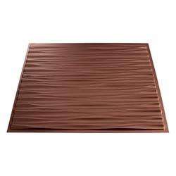 FASADE Dunes Horizontal - 2' x 2' PVC Glue-Up Ceiling Tile