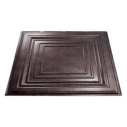 FASADE Traditional 3 - 2' x 2' PVC Lay-In Ceiling Tile