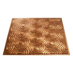 FASADE Cyclone - 2' x 2' PVC Lay-In Ceiling Tile
