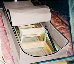 """Attic Tent 25"""" x 54"""" x 13"""" Attic Stairway Insulator"""