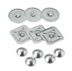 "Midwest Fastener Inc. 1-1/2"" Locking Square Insulation Washers - 1,000 per Case"