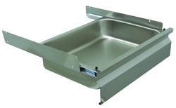 """Advance Tabco Ball Bearing Drawer-Stainless Steel-20"""" x 15"""" x 5"""""""