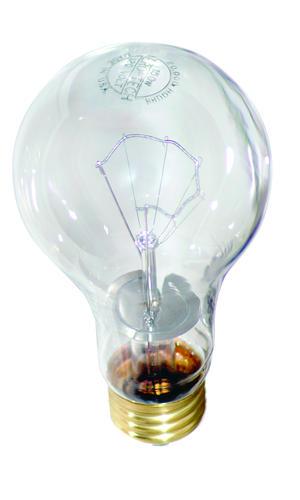 aero tech 75 watt clear 20 000 hour rough service light. Black Bedroom Furniture Sets. Home Design Ideas