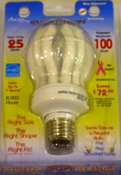25W Soft White CFL Standard Base Light Bulb