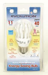 11W Full Spectrum CFL Standard Base Light Bulb