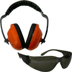 Forester™ Orange Ear & Eye Protection Kit