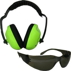 Forester™ Safety Green Ear & Eye Protection Kit