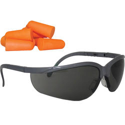 Forester™ Safety Glasses & Earplug Combo Pack