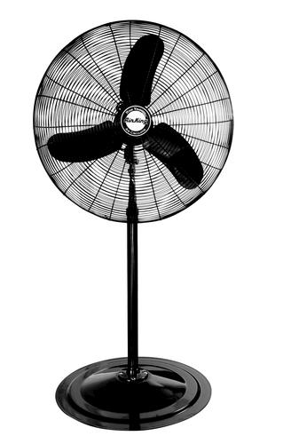 Air King Oscillating Pedestal Fan : Air king hp industrial grade oscillating pedestal