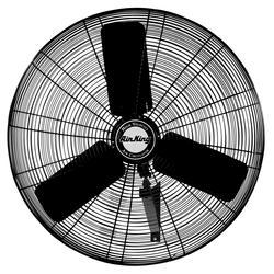 Air King 9025 1/4 HP Industrial Grade Oscillating Wall Mount Fan, 24-Inch
