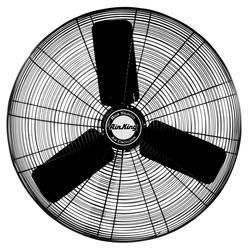 Air King 9174H Industrial Grade 1/3 HP Assembled Oscillating Fan Head, 24-Inch