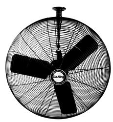 Air King 9325 1/4 HP Industrial Grade Oscillating Ceiling Mount Fan, 24-Inch