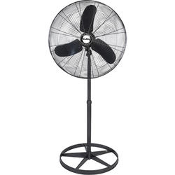 Air King 99533 Industrial Grade Quiet Oscillating Pedestal Fan, 24""