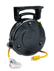 Smart Electrician 12-3 40' Tri-Tap Cord Reel