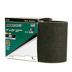 "Masterforce® 1-Pack 3"" x 21"" Sanding Belt (80-Grit)"