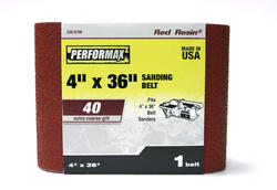 "Performax® 1-Pack 4"" x 36"" Sanding Belt (40-Grit)"