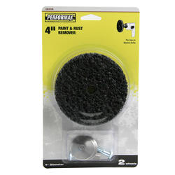 """Performax® 4"""" Paint & Rust Remover for Drills"""